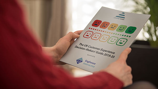 Read the ContactBabel UK CX Decision-Makers' Guide 2019-20!